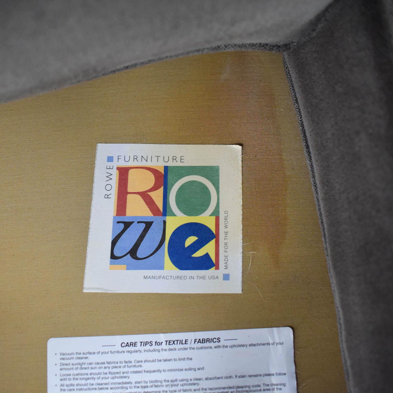 Rowe Rowe Taupe Two-Cushion Sofa price