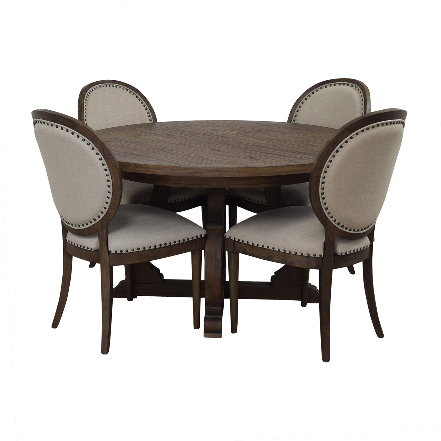 Restoration Hardware Restoration Hardware Extendable Dining Set