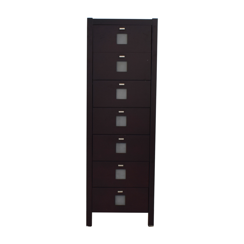 Moda Furniture Moda Furniture Riva Seven-Drawer Dresser dimensions