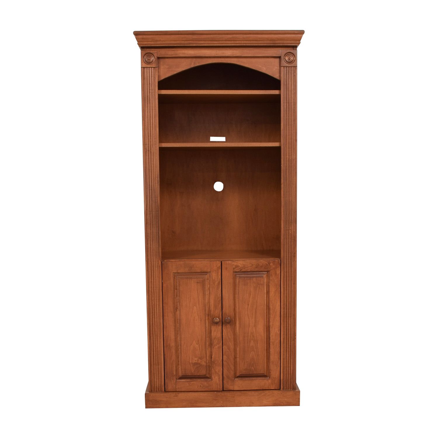 Gothic Cabinet Craft Custom Wood Bookshelf With Storage