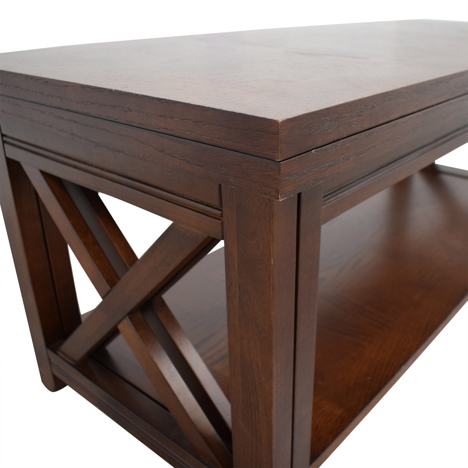 Groovy 55 Off Raymour Flanigan Raymour Flanigan Tucson Extendable Coffee Table Tables Andrewgaddart Wooden Chair Designs For Living Room Andrewgaddartcom