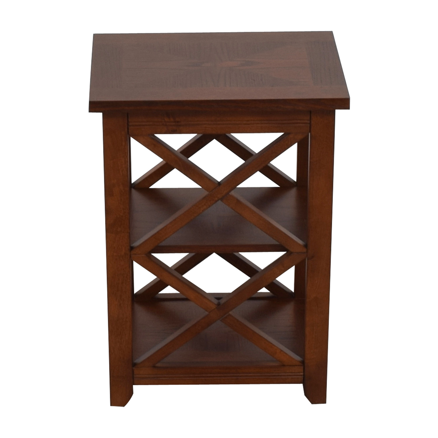 Raymour & Flanigan Raymour & Flanigan Tucson Side Table brown