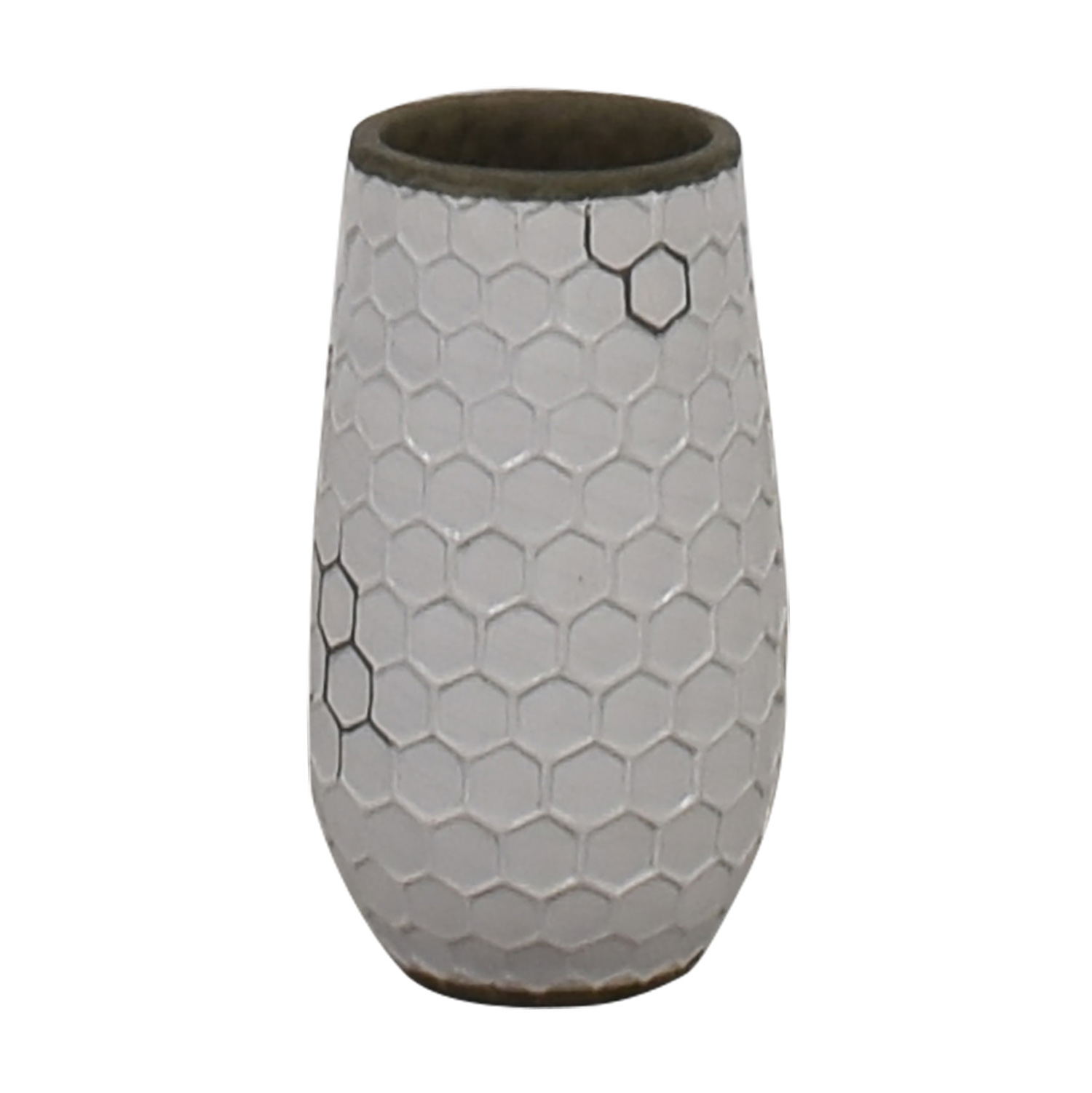 West Elm White Vase sale