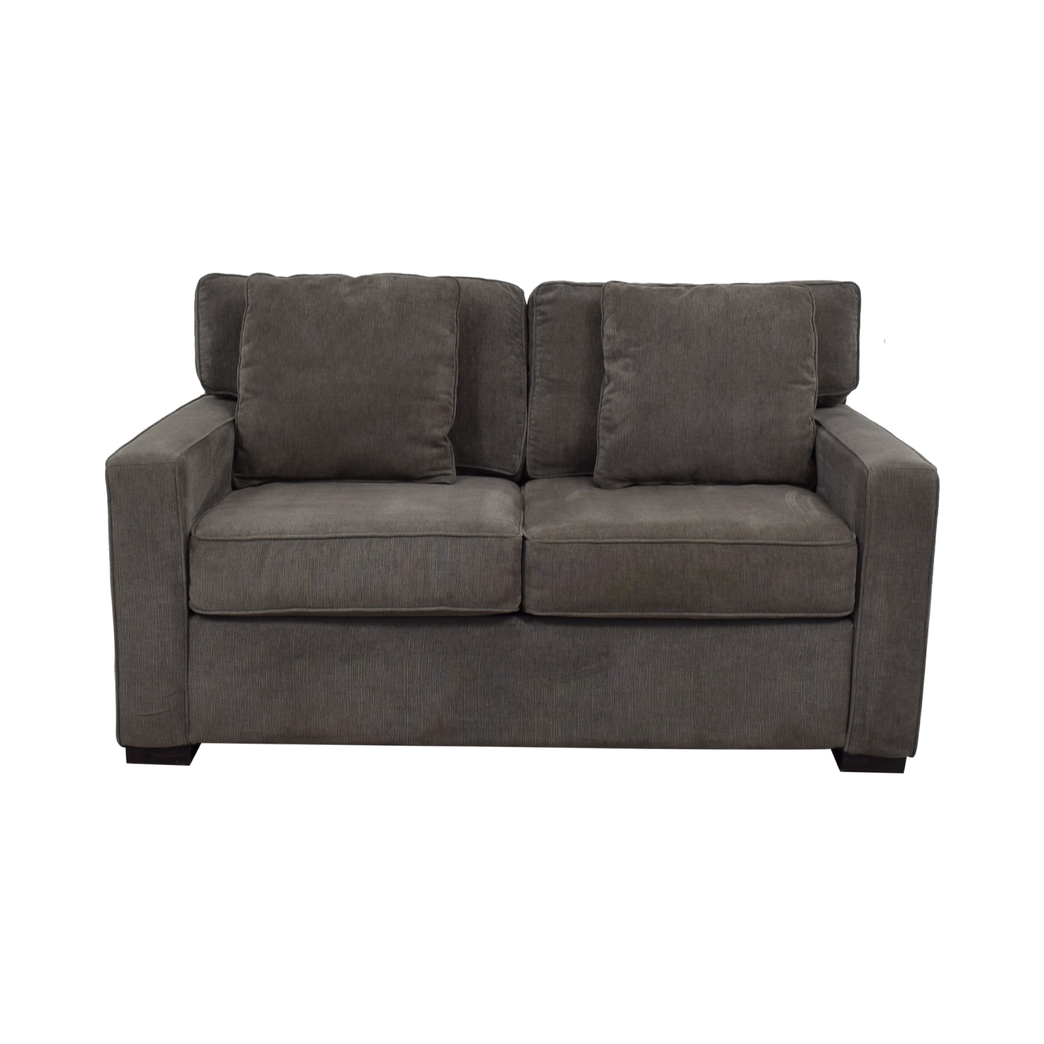 Macy's Macy's Radley Grey Loveseat Grey