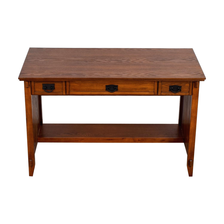 shop  Three-Drawer Wood Mission Desk online