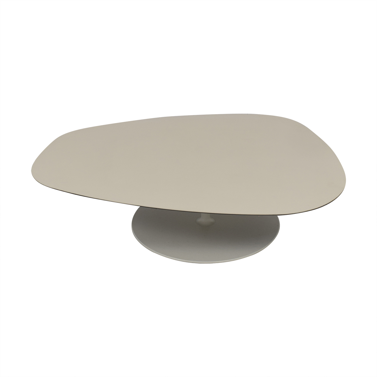 Moroso Moroso Phoenix White Rounded Triangular Table on sale