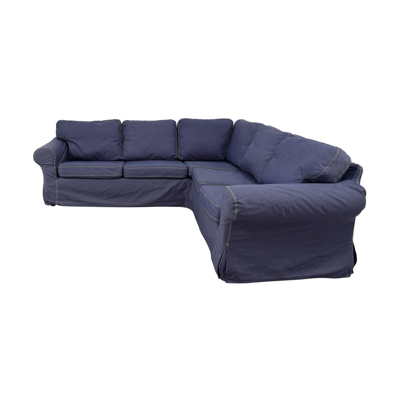 66 Off Ikea Ikea Ektorp Sectional Sofas