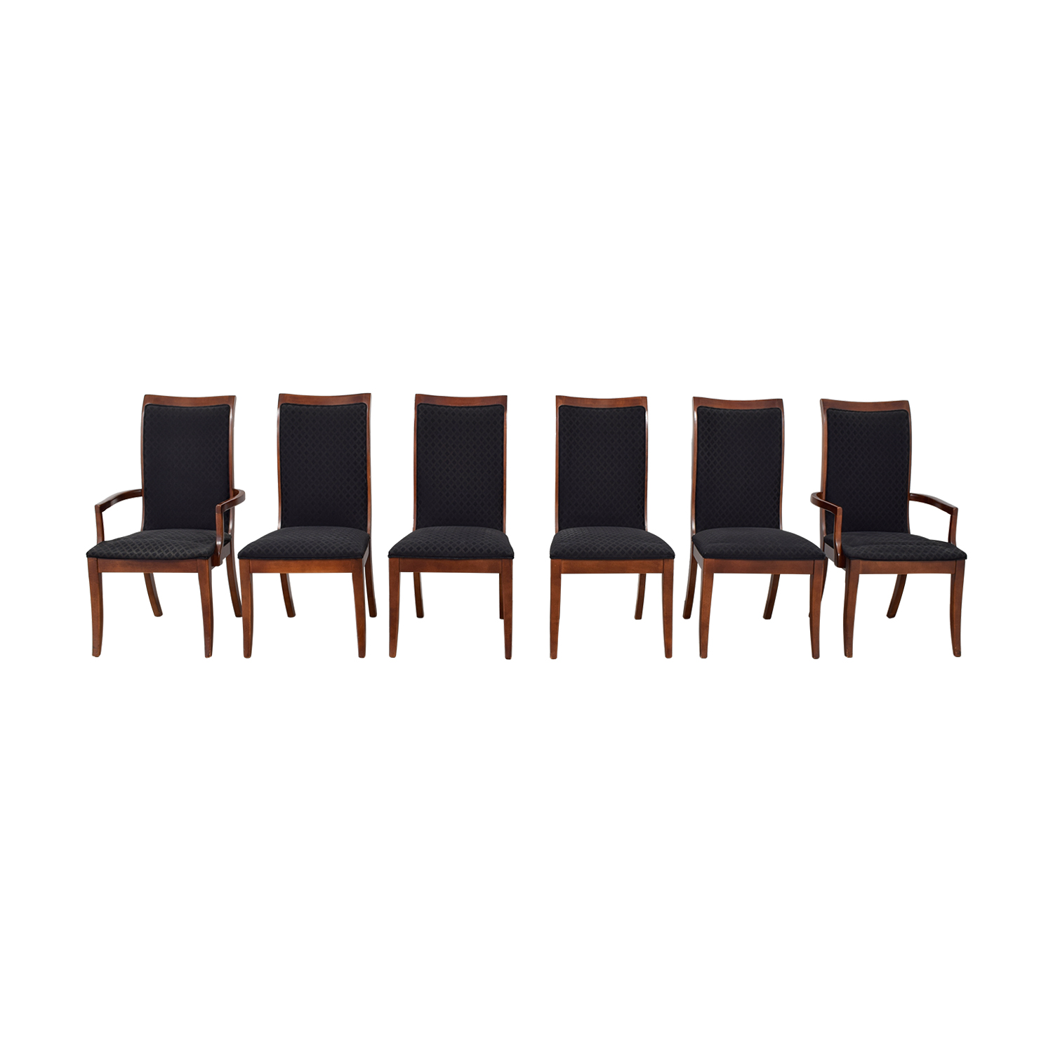 Shop Stanley Furniture Stanley Furniture Brown Upholstered Dining Chairs  Online ...