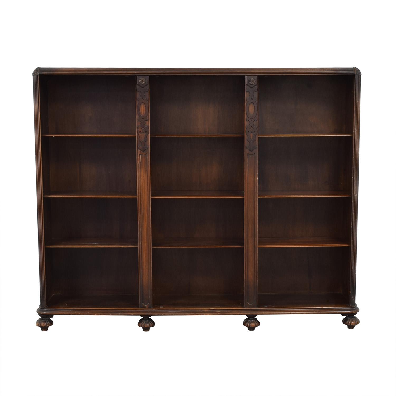 Three Tiered Wood Book Case / Storage