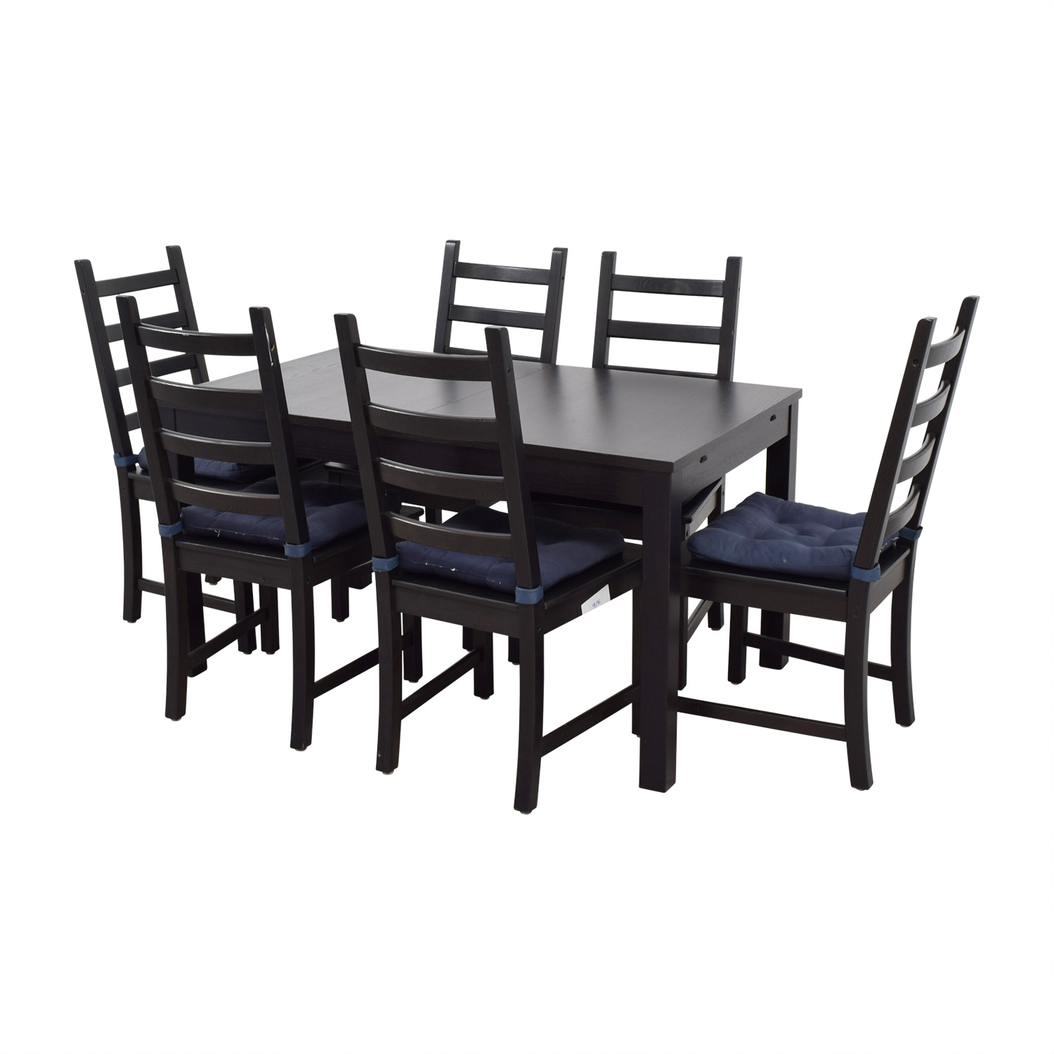 73 Off Ikea Ikea Stornas Extendable Dining Set Tables
