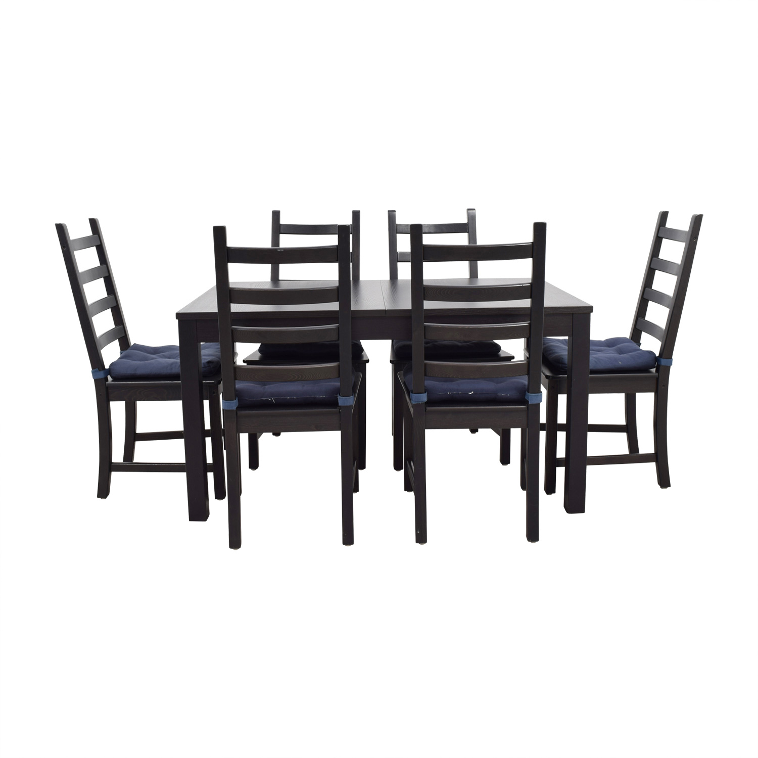73 Off Ikea Stornas Extendable Dining Set Tables