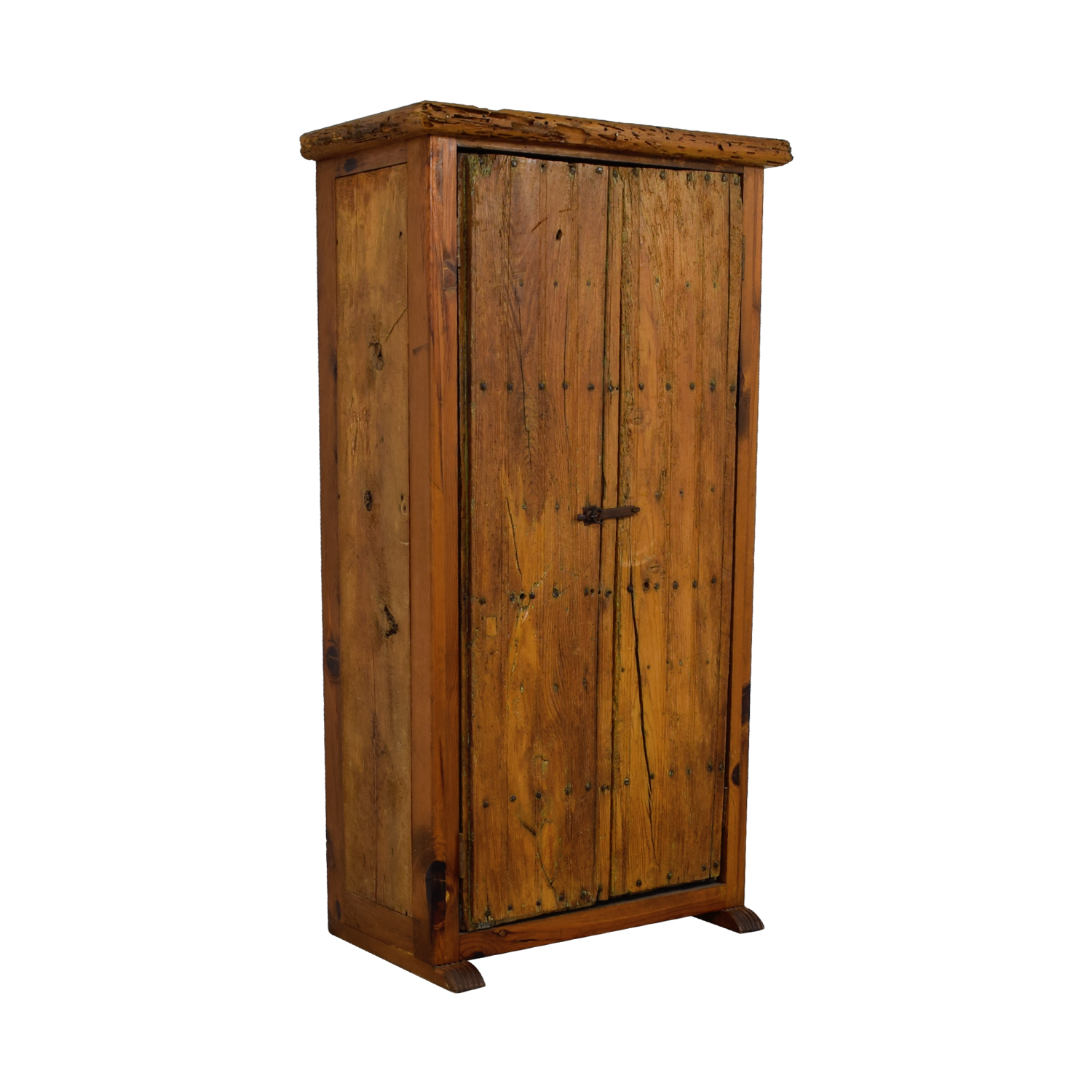 ABC Home & Carpet ABC Home & Carpet Authentic Mexican Rustic Barn Wood Armoire price