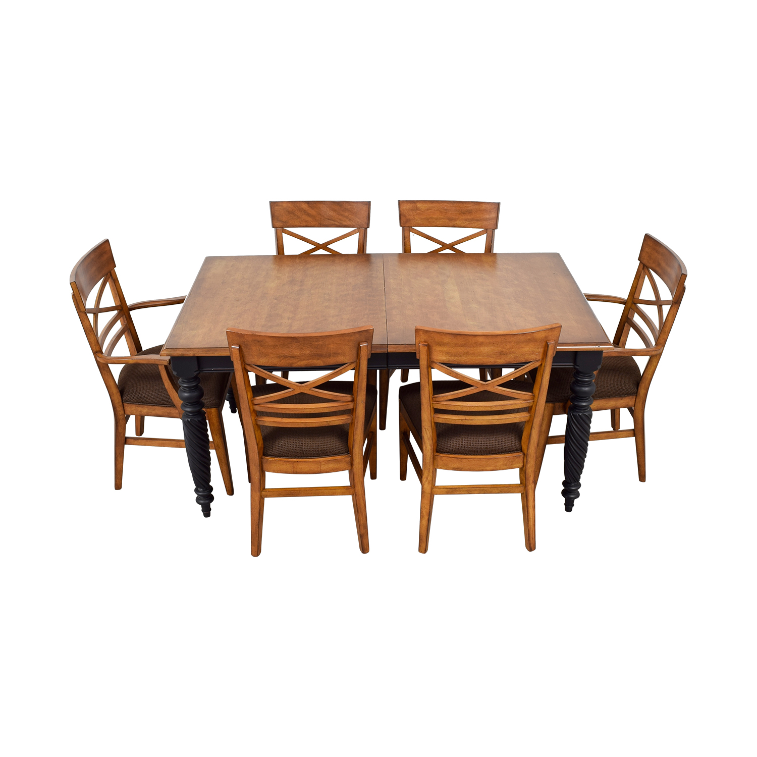 buy Ethan Allen Livingston Dining Set Ethan Allen Tables