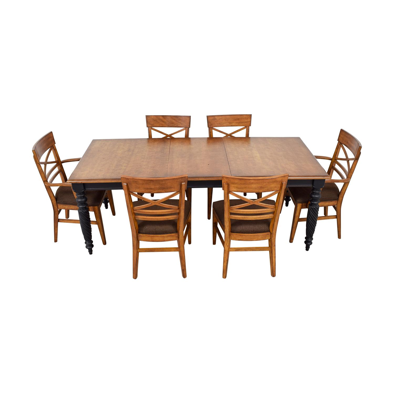 89 Off Ethan Allen Ethan Allen Livingston Dining Set