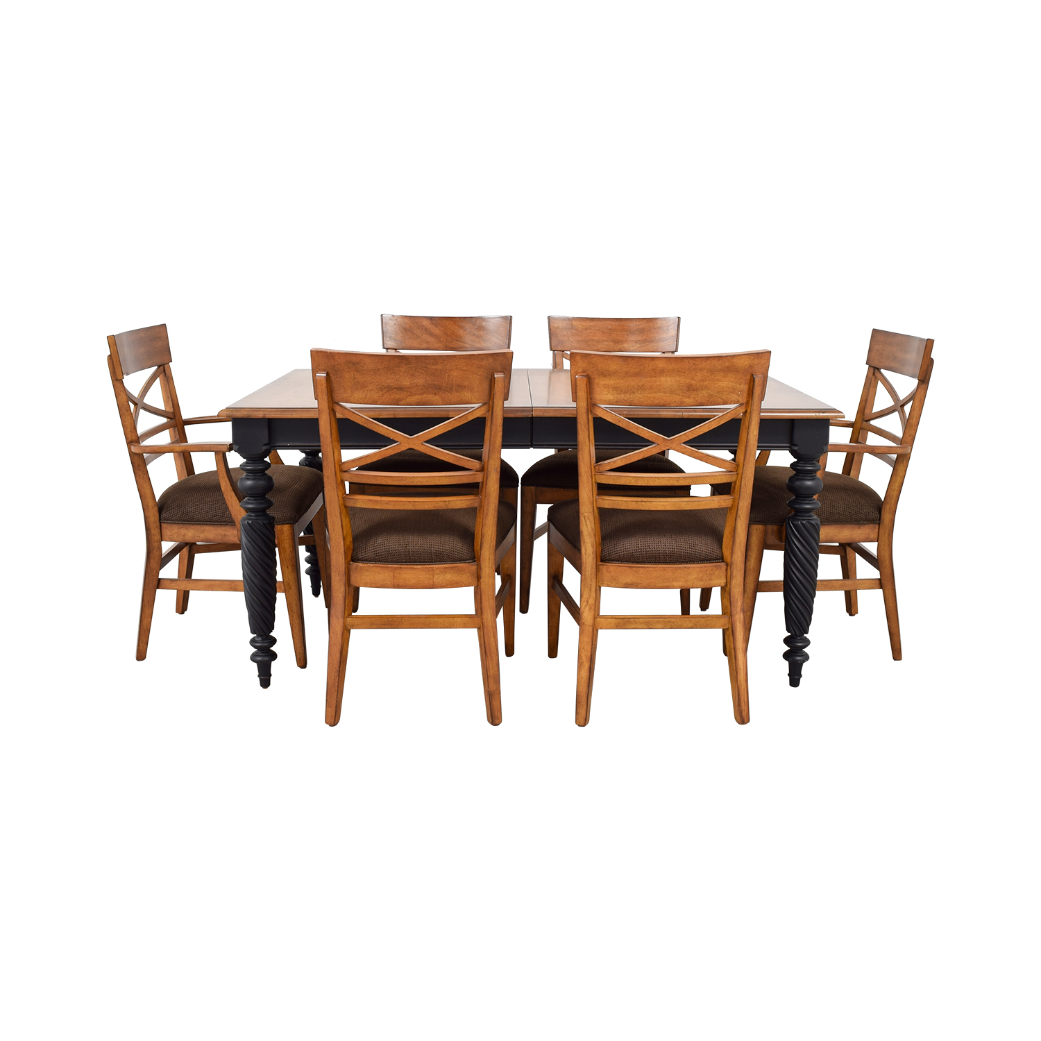 shop Ethan Allen Livingston Dining Set Ethan Allen Dining Sets