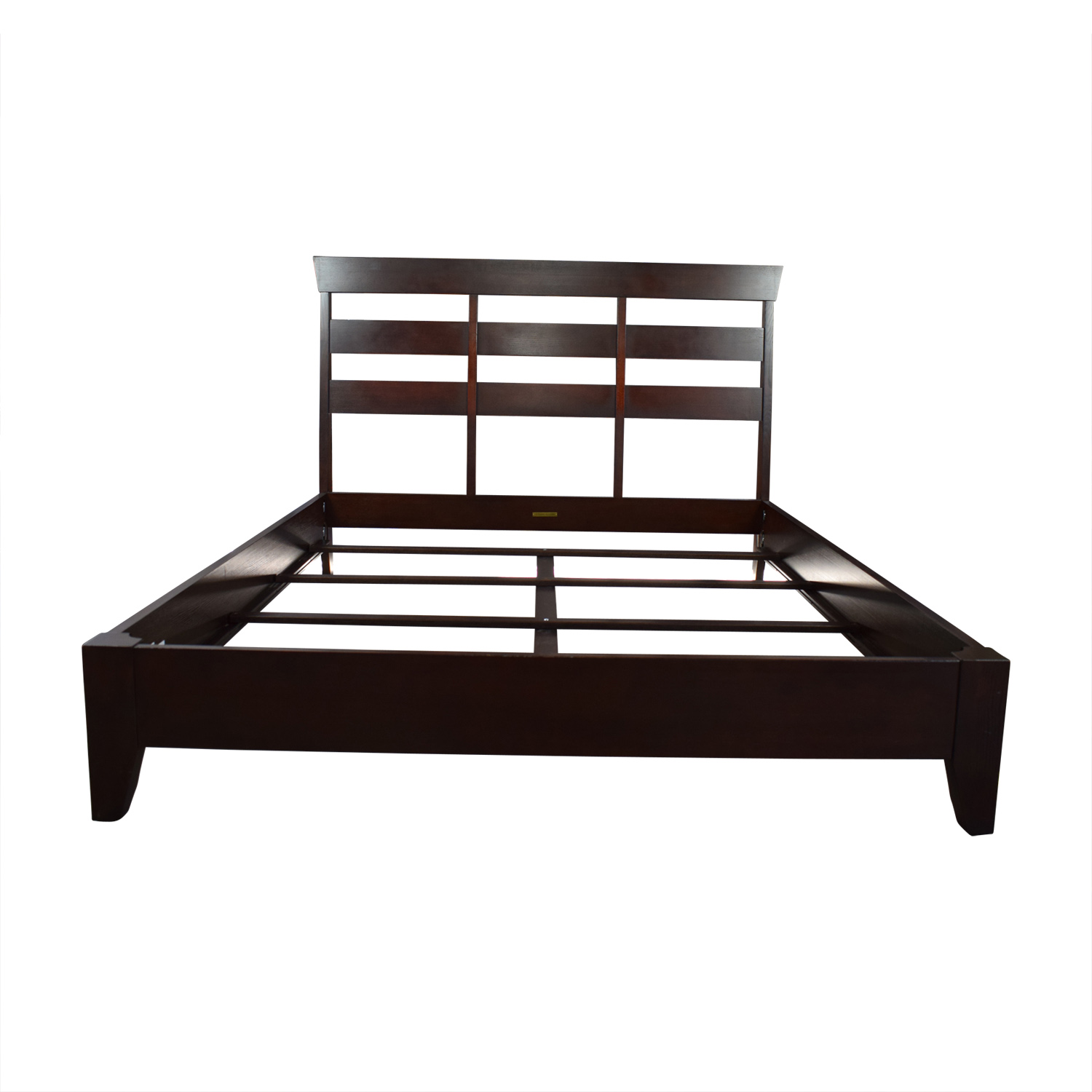 Ethan Allen Wood Queen Bed Frame / Bed Frames