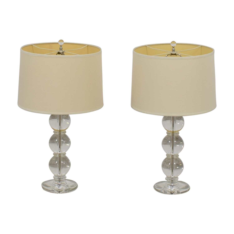 shop Glass Ball Table Lamps  Decor