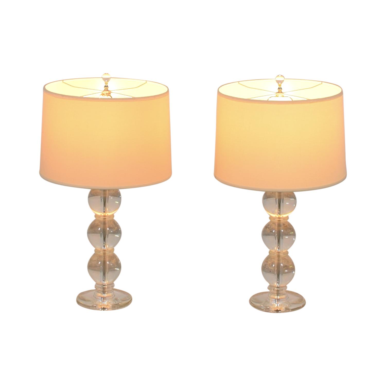 buy Glass Ball Table Lamps  Decor
