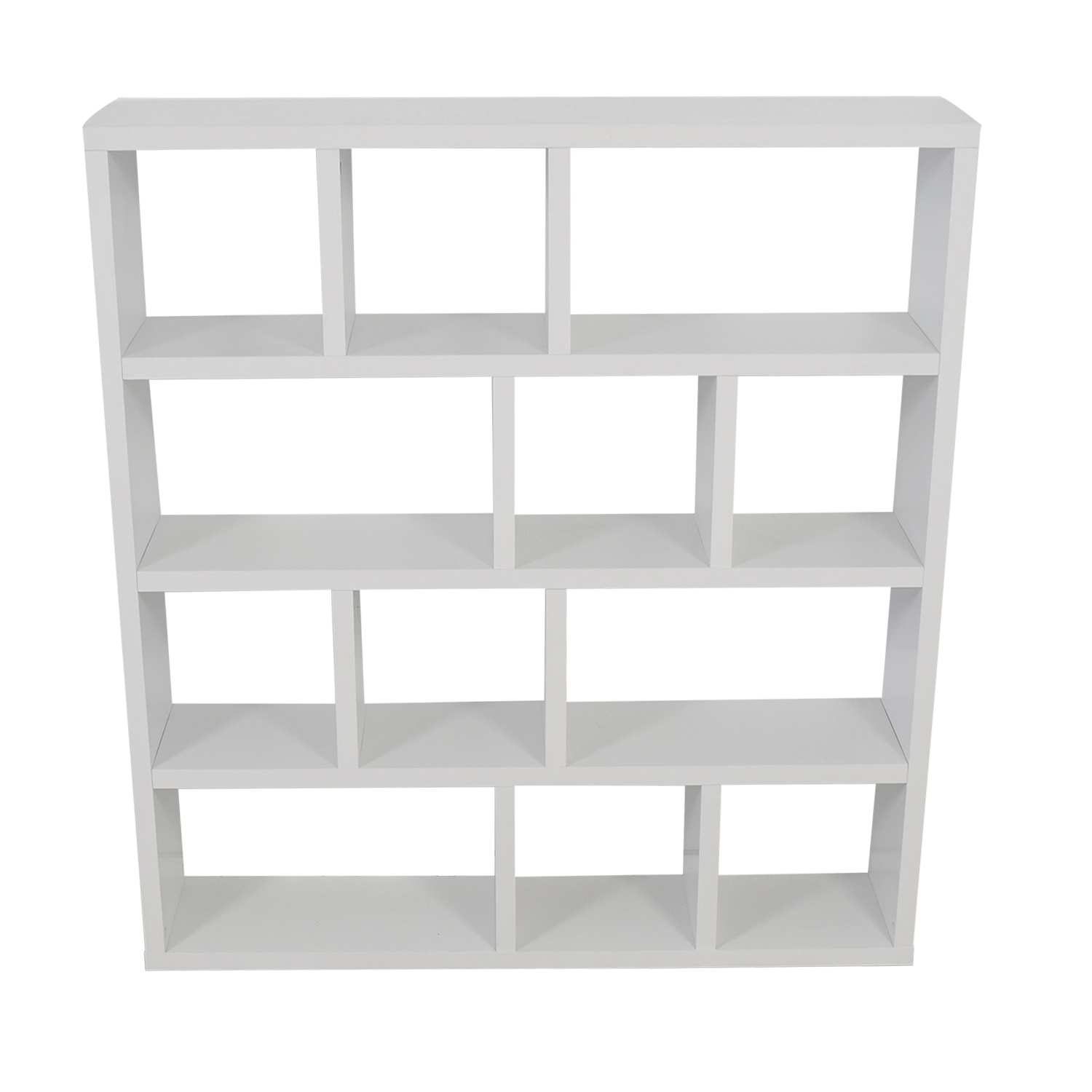 ABC Carpet & Home White Cube Bookshelf / Dividers