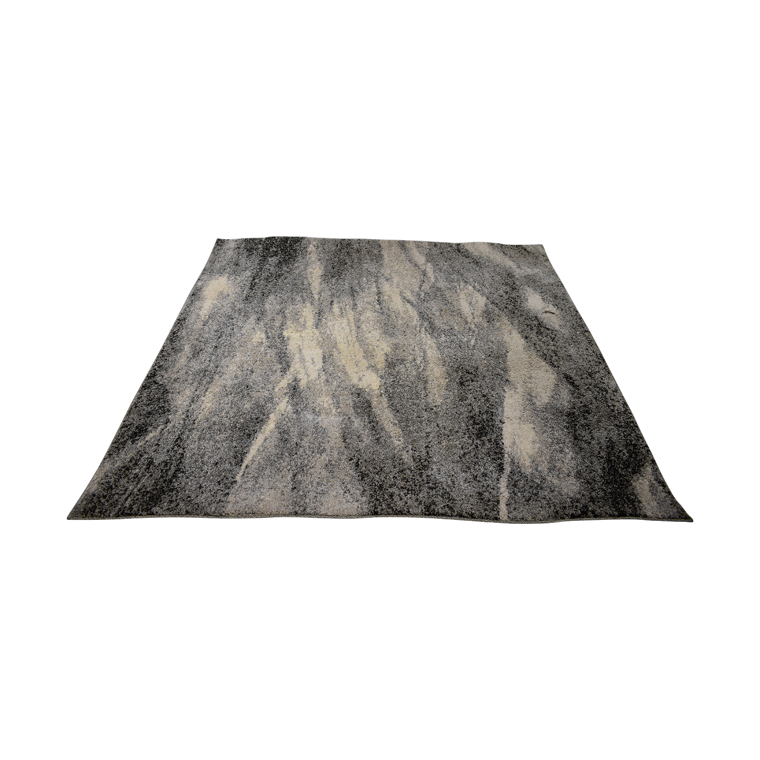 Safavieh Grey White and Black Rug Safavieh