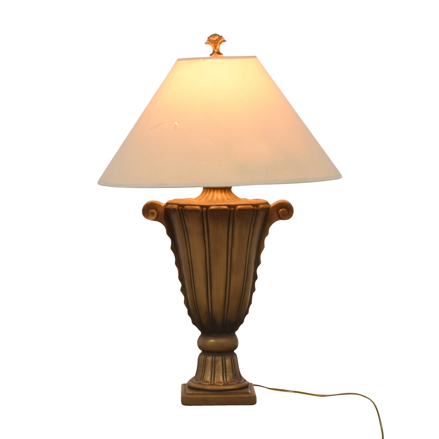 RoomsToGo RoomsToGo Gold Scroll Lamp Lamps