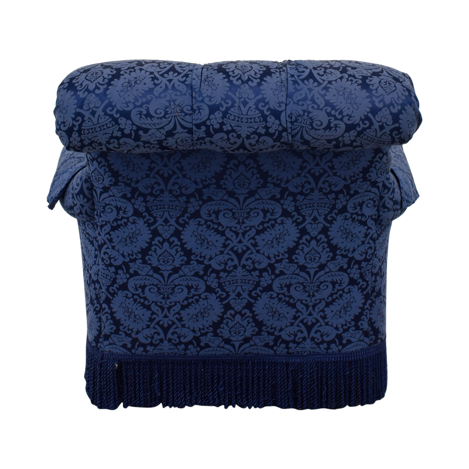 Ralph Lauren Ralph Lauren Blue Tufted Club Chair used