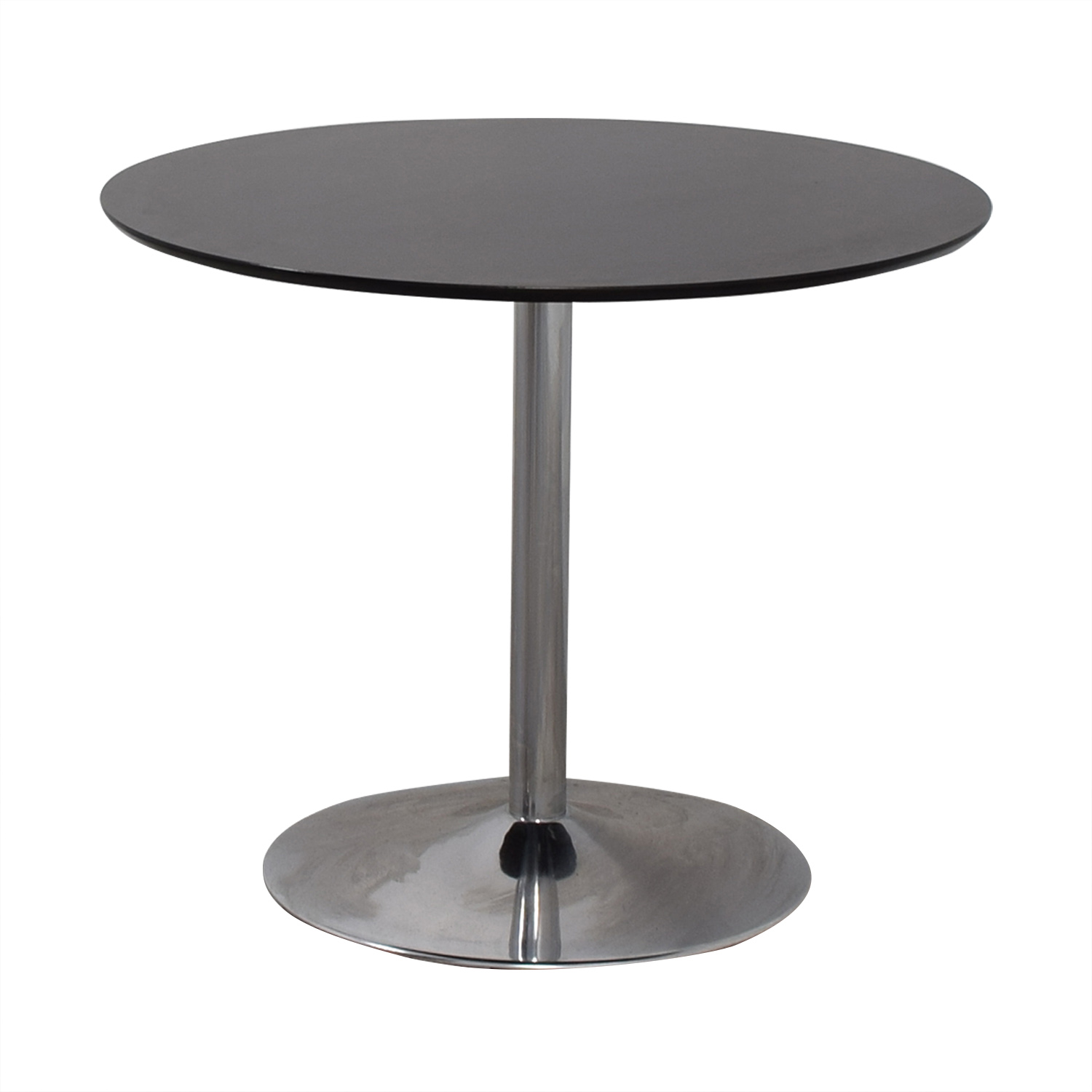Zipcode Design Ember Black Top and Metal Base Dining Table / Tables