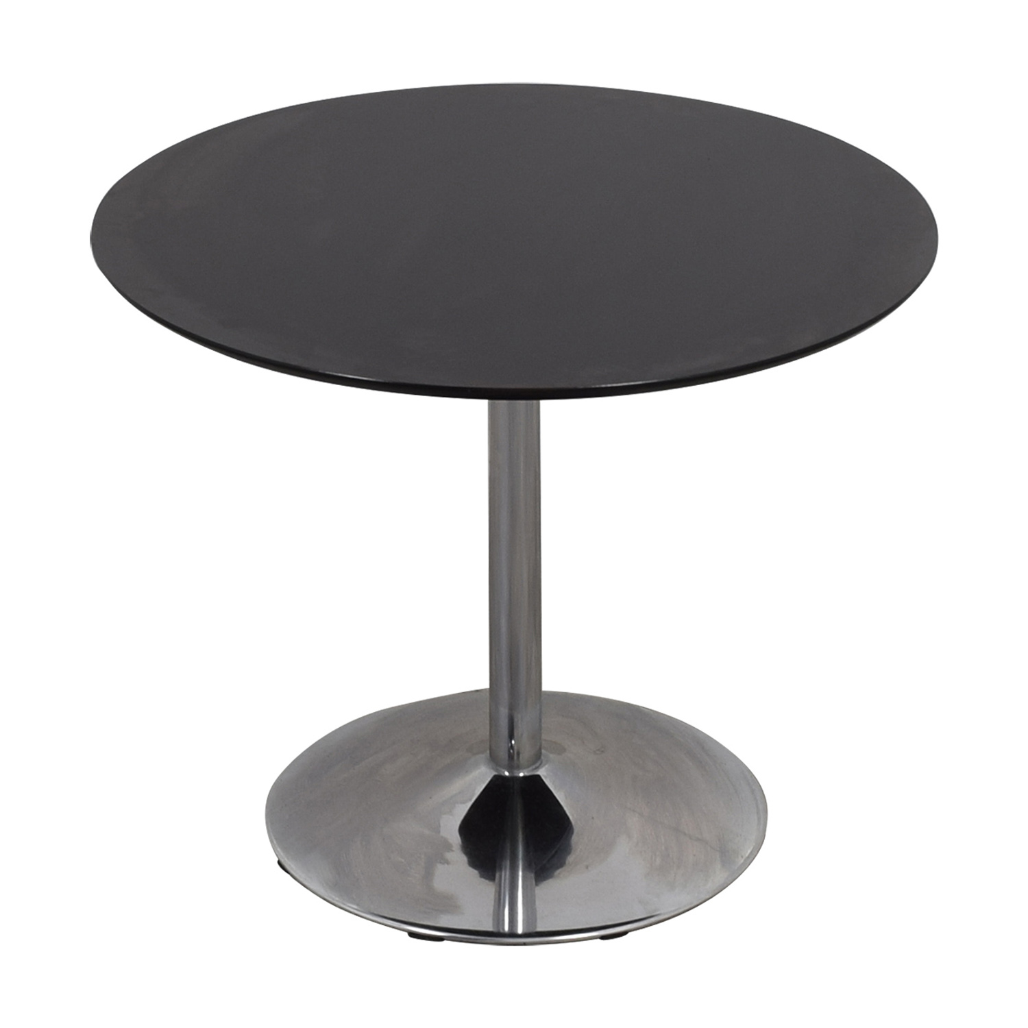 Zipcode Design Zipcode Design Ember Black Top and Metal Base Dining Table second hand