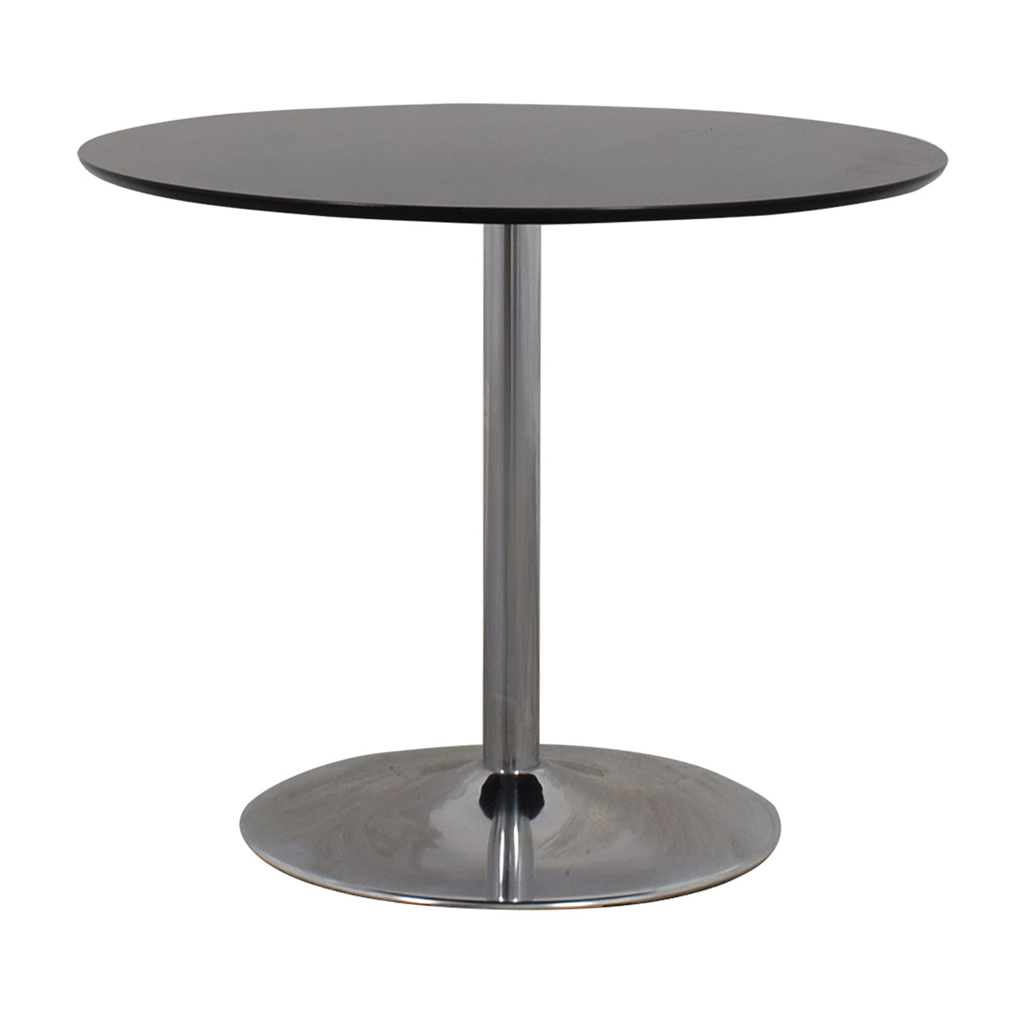 Zipcode Design Zipcode Design Ember Black Top and Metal Base Dining Table