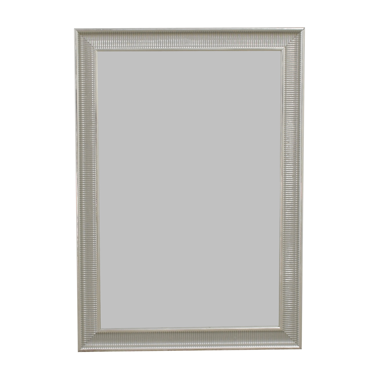 shop IKEA Songe Silver Framed Mirror IKEA Decor