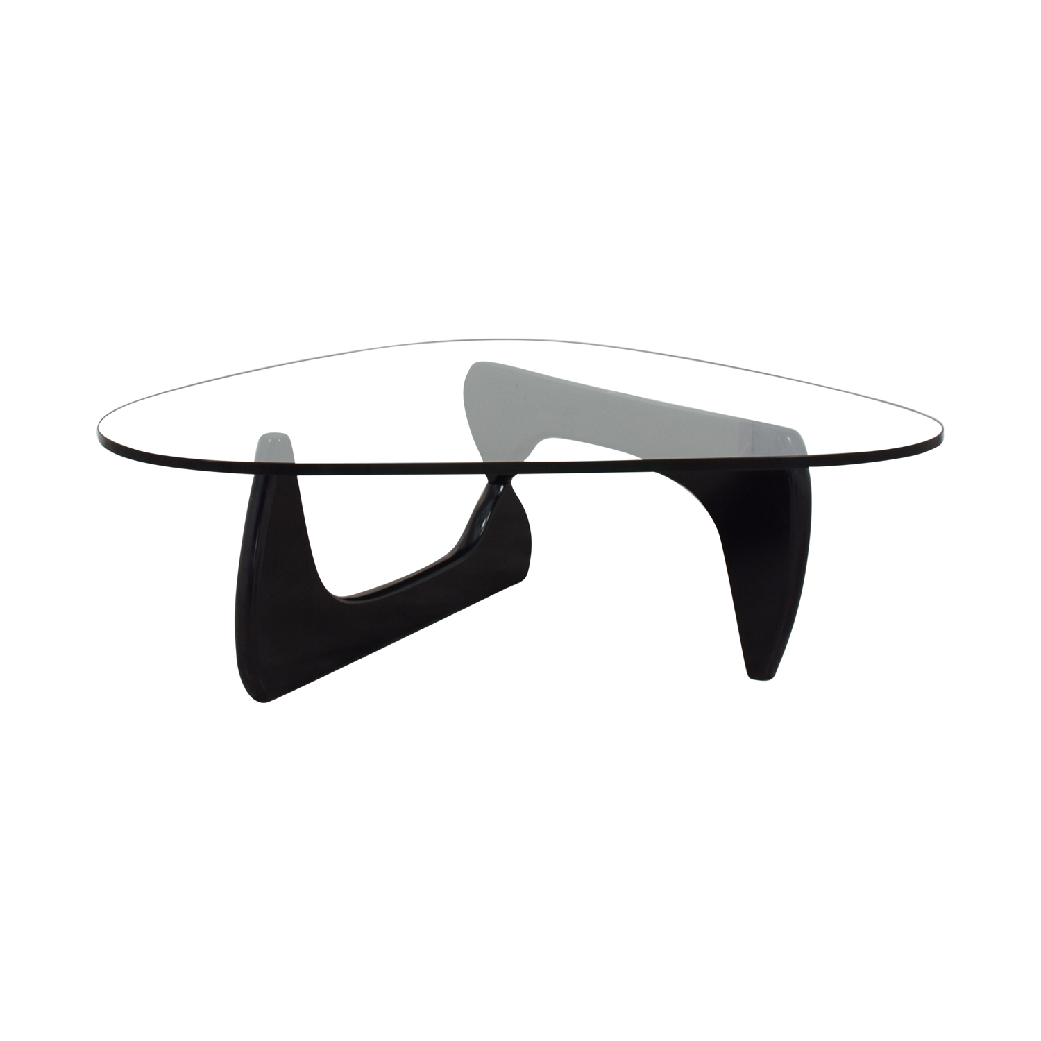buy Herman Miller Herman Miller Noguchi Glass Coffee Table Signed online