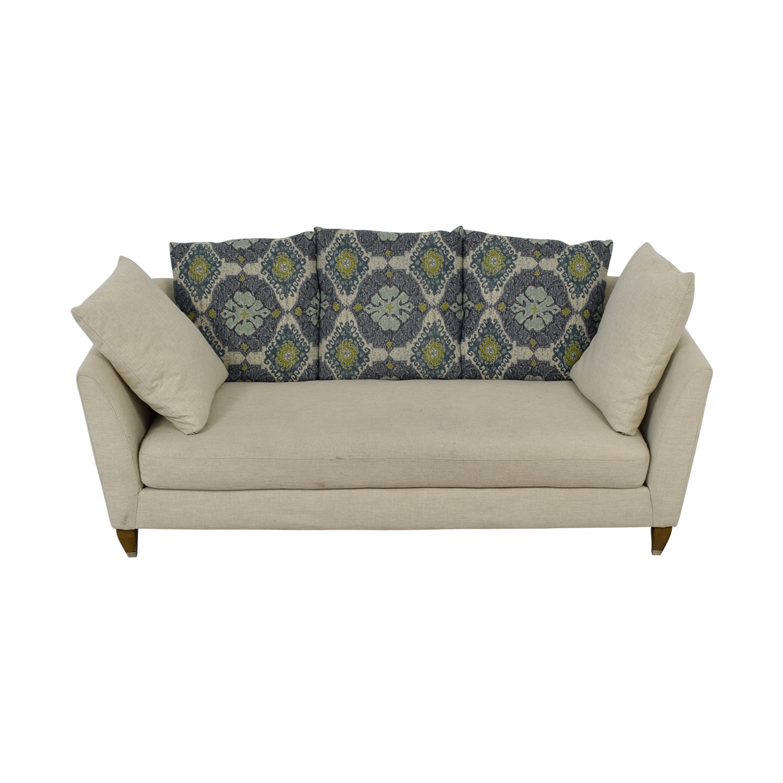Raymour & Flanigan Raymour & Flanigan Beige Single Cushion Couch used