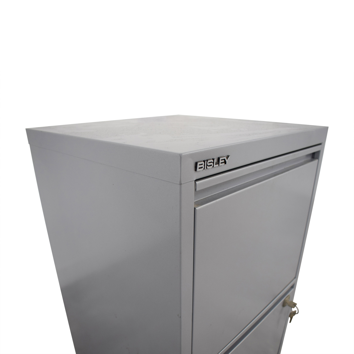... Bisley Bisley Grey Two Drawer Filing Cabinet For Sale ...