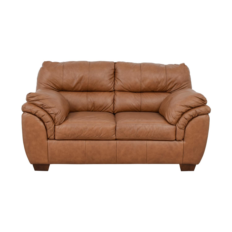 Ashley Furniture Ashley Furniture Beige Bladen Loveseat on sale