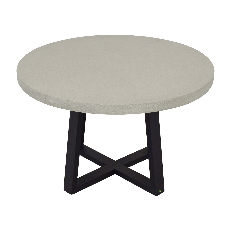West Elm West Elm Slab Round Dining Table nyc