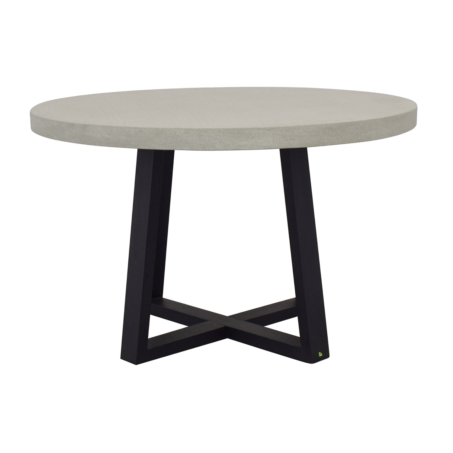 West Elm West Elm Slab Round Dining Table coupon