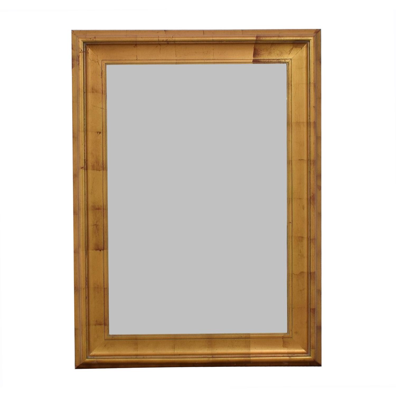 Gold Frames Mirror on sale