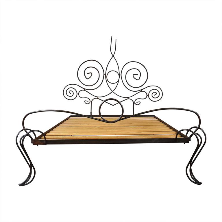 shop  Custom Artisanal French Iron Full Bed Frame online