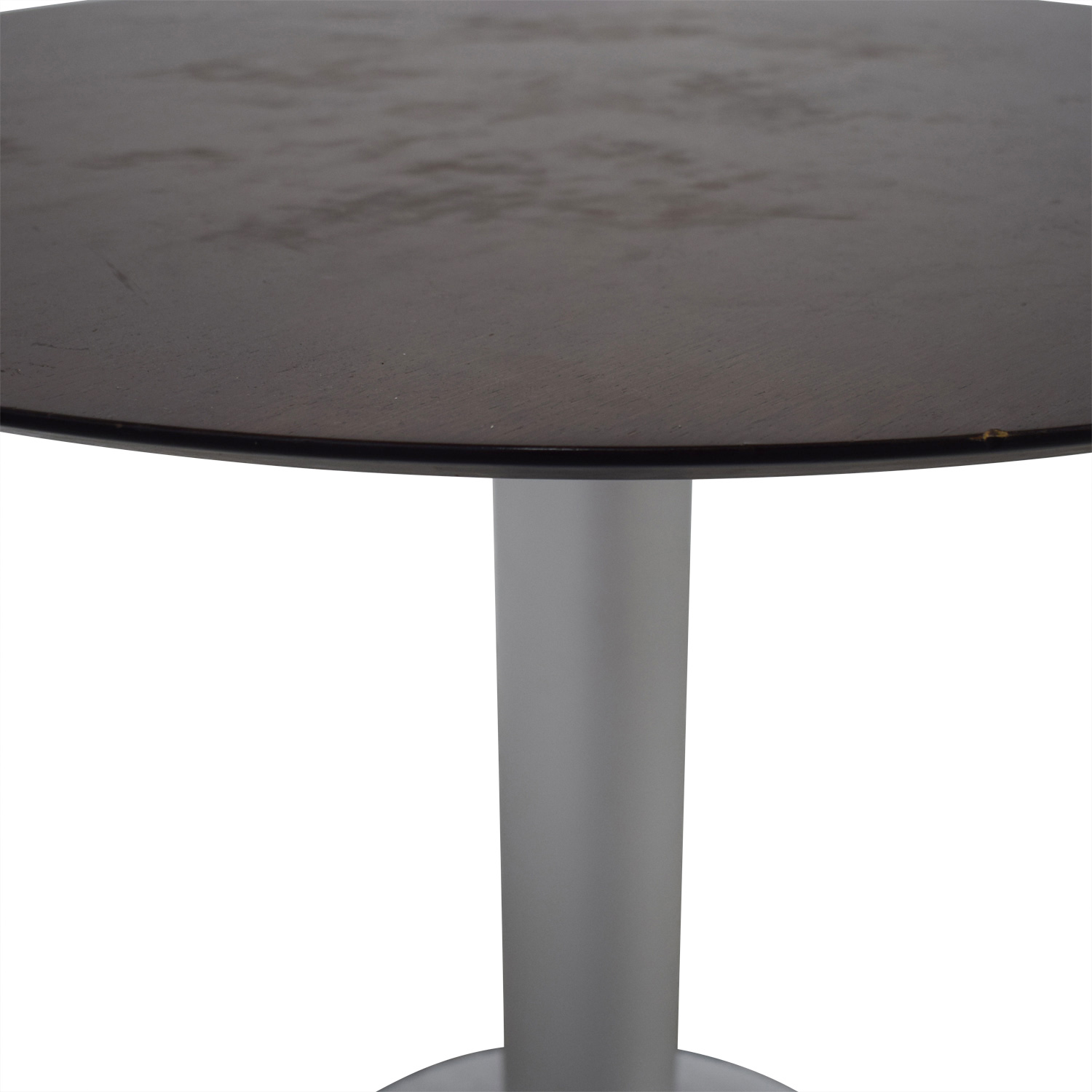 Stua Stua Zero Wood and Chrome Round Table price