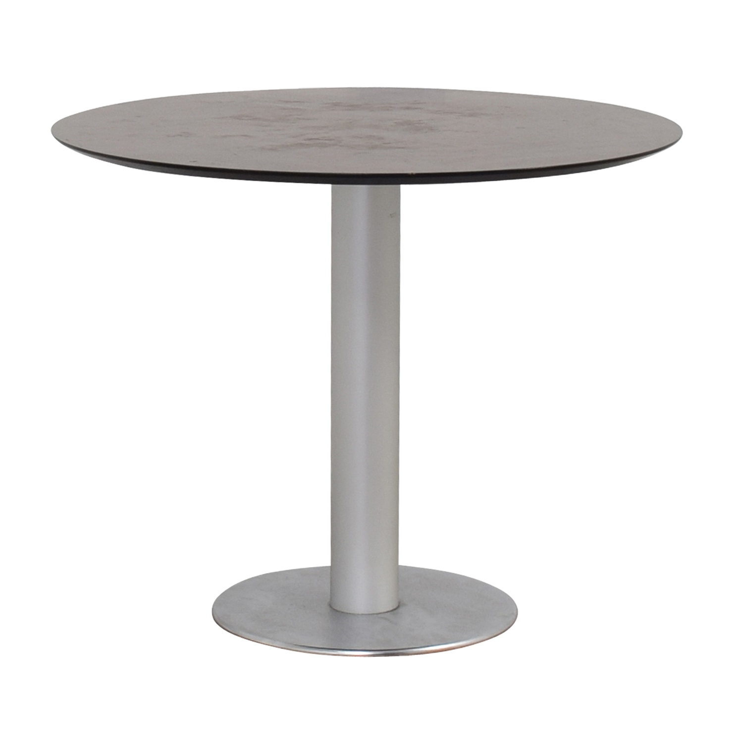 Stua Stua Zero Wood and Chrome Round Table coupon