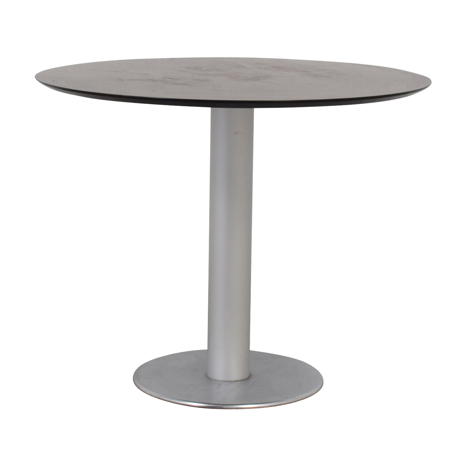 Stua Zero Wood and Chrome Round Table sale