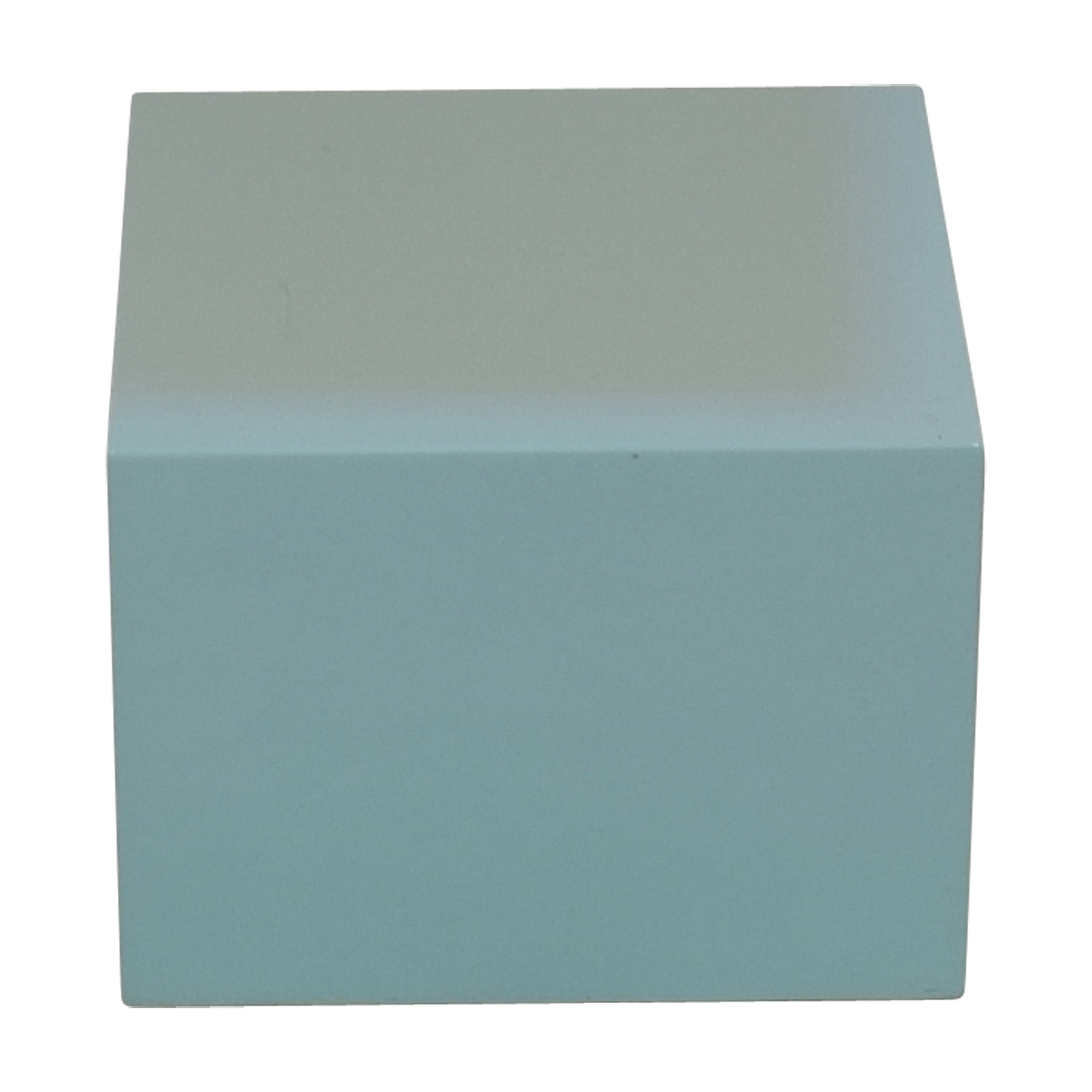 CB2 CB2 City Slicker Mint Green Side Table End Tables