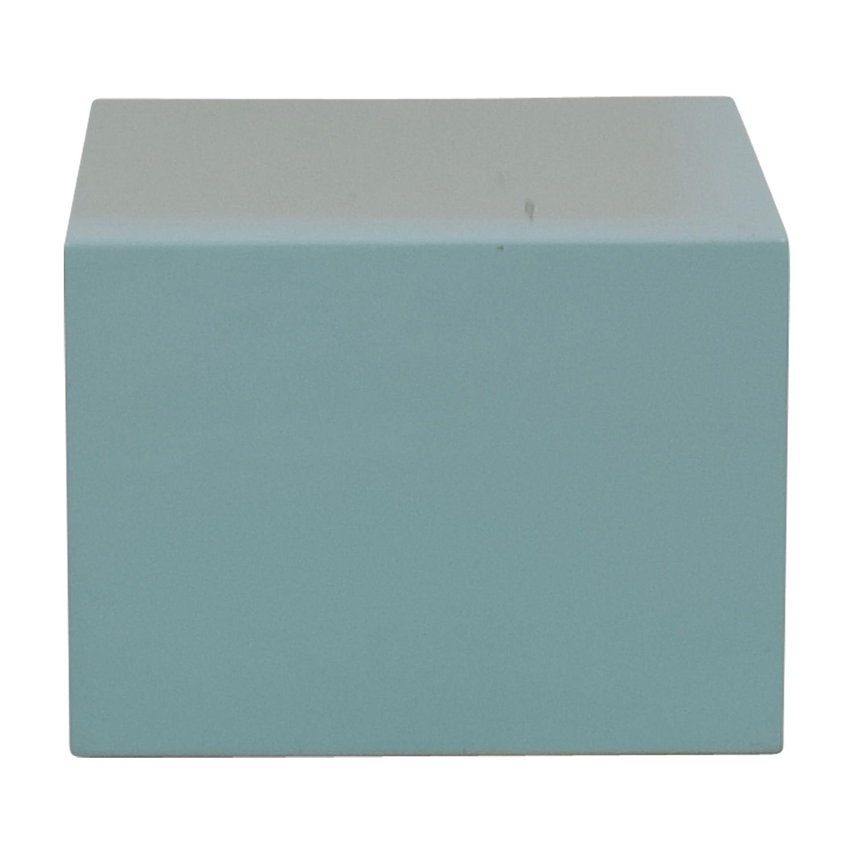 shop CB2 CB2 City Slicker Mint Green Side Table online