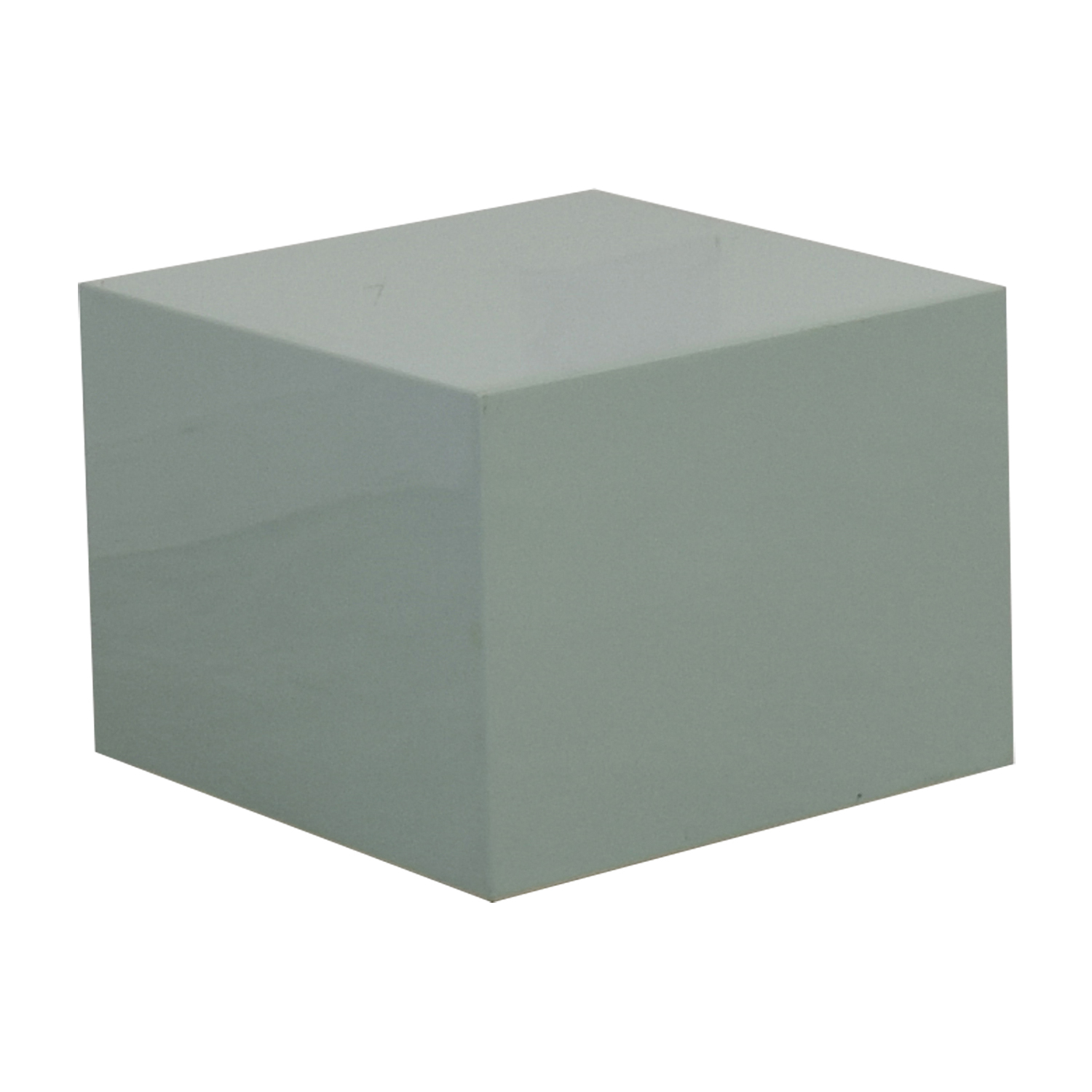 CB2 CB2 City Slicker Mint Green Side Table nyc