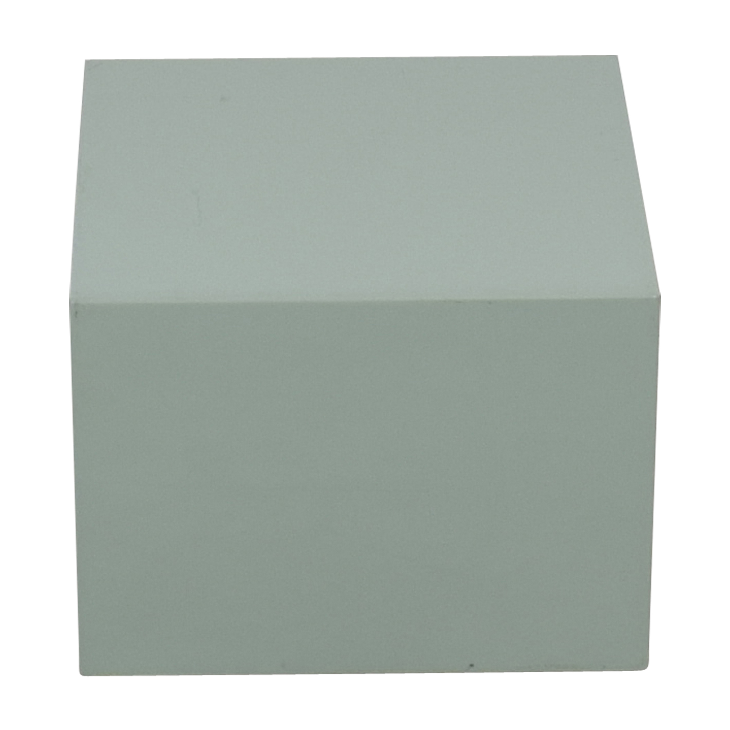 CB2 CB2 City Slicker Mint Green Side Table second hand