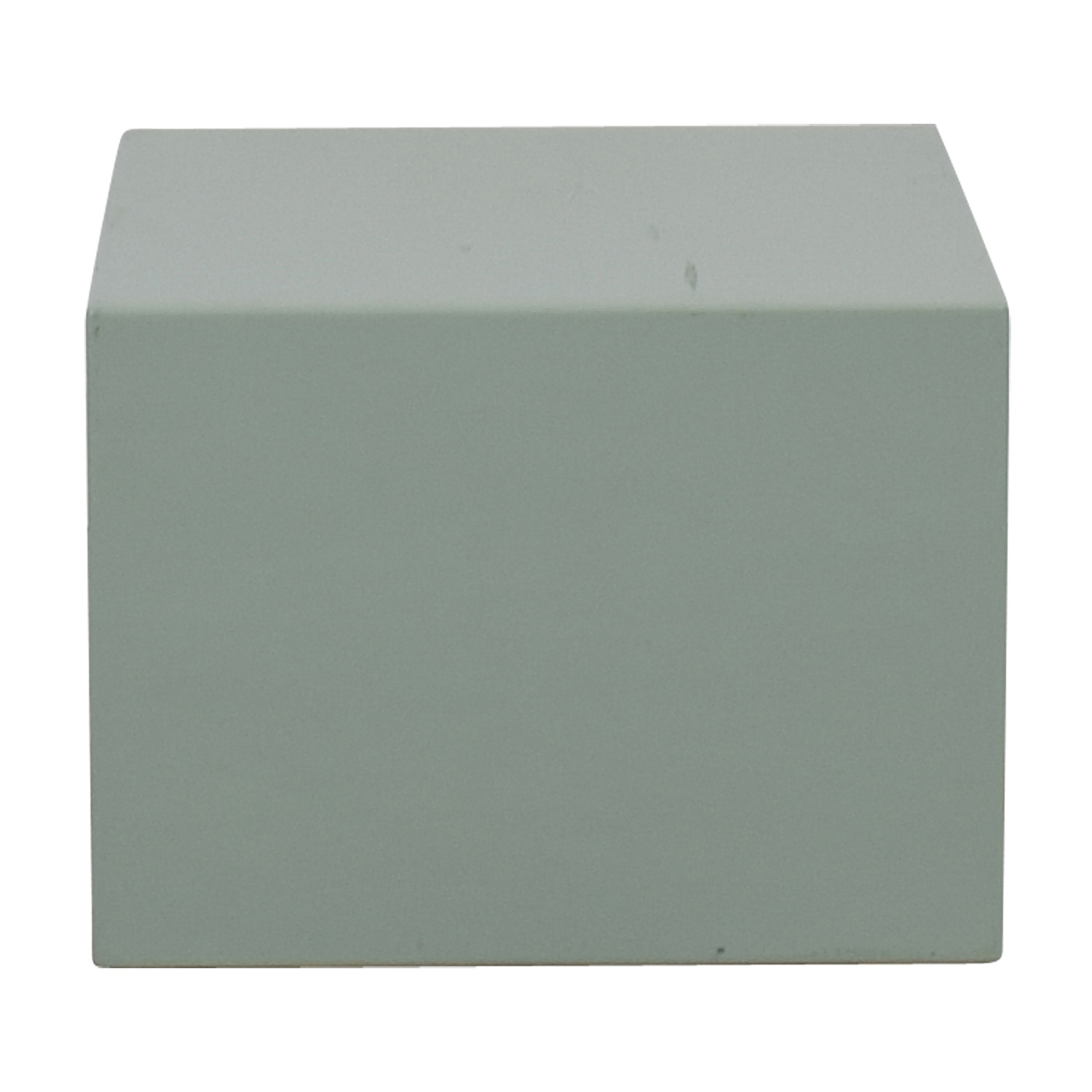 CB2 City Slicker Mint Green Side Table / Tables