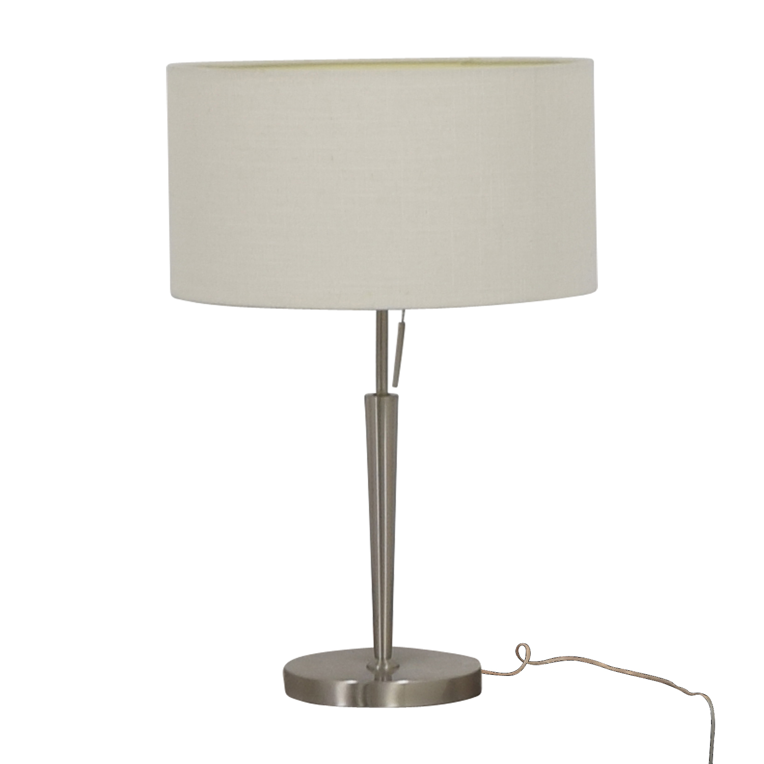 Arcadia Collection Arcadia Collection Chrome Table Lamp dimensions