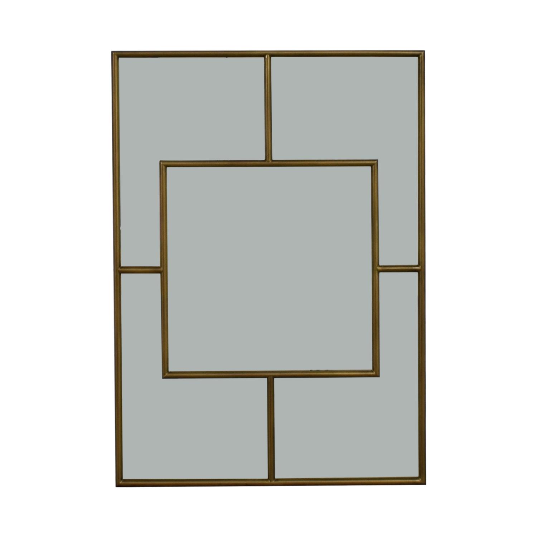 buy Brass Framed Wall Mirror