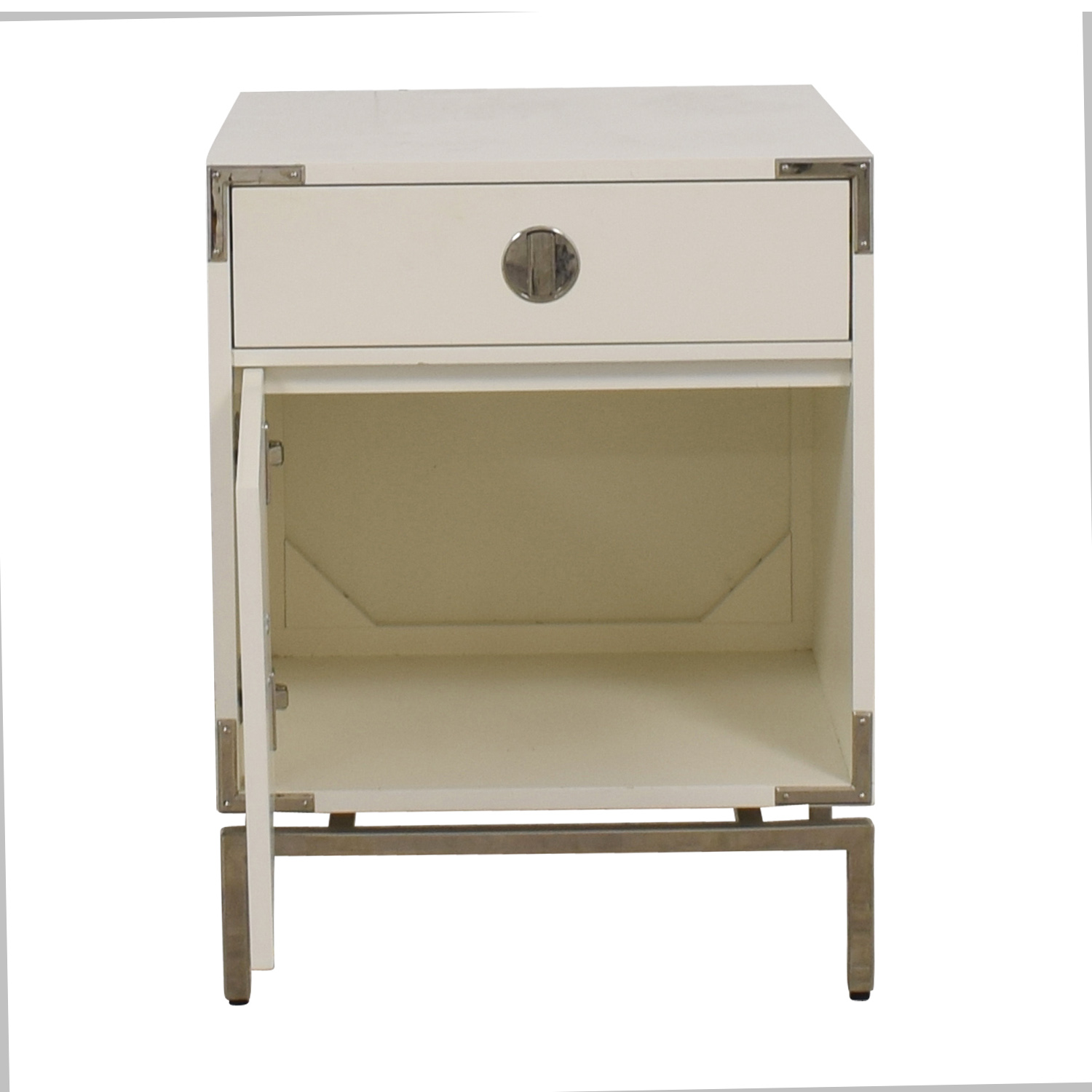 West Elm West Elm Malone White Campaign Store Nightstand price