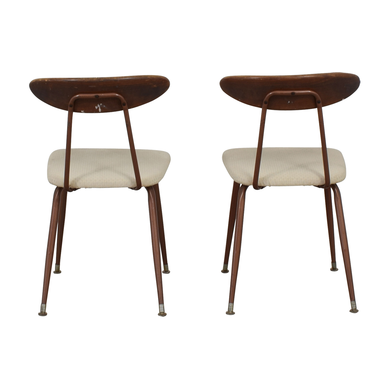 Retro Copper Chairs discount